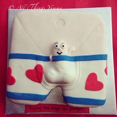 Bachelorette Cakes - A Bailey's and Kahlua Bachelorette Underwear Cake for Hen's Night | All Things Yummy #bachelorette #cakes #allthingsyummy #underwear #baileys #kahlua