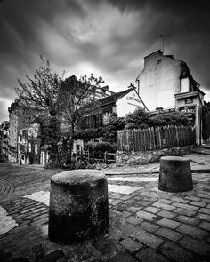 Paris in black & White by Damien Vassart