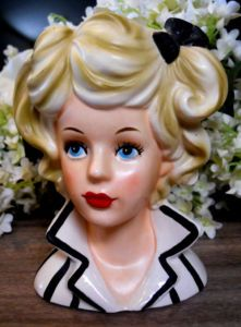 Lady Head Vase...I've been looking for her