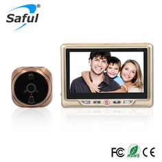 LCD Recordable Digital Peephole Door Viewer with Door Eye Doorbell Video Camera Free shipping (32703402229)  SEE MORE  #SuperDeals