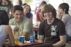Still of Sean Faris and Evan Peters in Never Back Down (2008)
