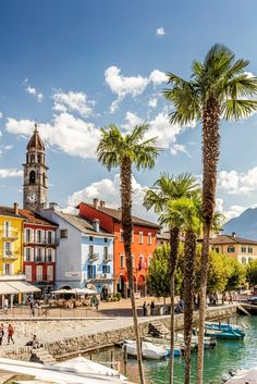 The picturesque lakeside promenade of Ascona.  © Alessio Pizzicannella