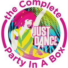 Just Dance Party in a Box from BirthdayExpress.com