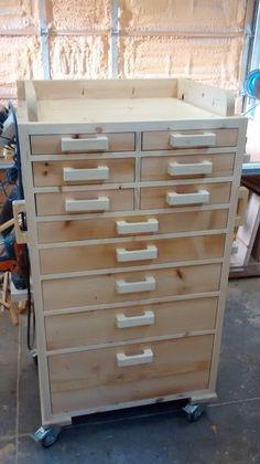Workshop Storage, Workshop Organization, Organization Ideas, Storage Ideas, Garage Workshop, Workshop Ideas, Storage Solutions, Wood Tool Box, Wood Tools
