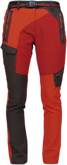 Angel Cola Women's Outdoor Hiking & Climbing Comfort Stretch Midweight Pants PW5310 Orange 35