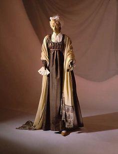 Dress (image 1) | American | 1800 | silk | Metropolitan Museum of Art | Accession Number: C.I.69.15.2