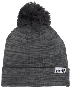 1cdafafda87 Amazon.com  neff Women s Heather Pom Beanie Hat