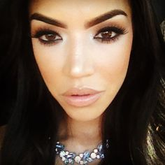 makeup by @iluvsarahii ❤ Besos !!! #queenoftheuniverse @caseys_girl