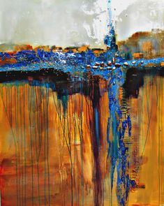 abstract art paintings of Jane Robinson