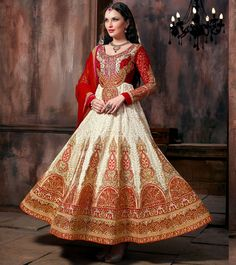 Buy online maroon and white embroidered, lace, stone and zari desinger anarkali salwar suit. This desinger anarkali salwar suit is made with exclusive embroidered, lace, stone and zari. Shop online beautiful desinger anarkali salwar suit now. Robe Anarkali, Costumes Anarkali, Anarkali Suits, White Anarkali, Silk Lehenga, Designer Anarkali, Indian Wedding Outfits, Indian Outfits, Indian Weddings
