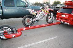 Single Wheel Motorcycle-Trailer-SEMA