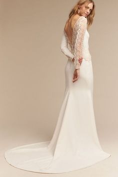 Ivory Sol Gown in  Bride | BHLDN