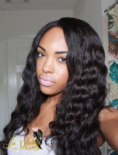 Achieve this look with the Luxury LooseWave Texture at www.LaVidaHairCo.com