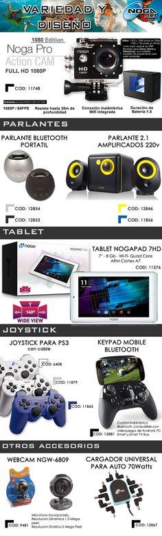 #NOGANET #NogaPRO #Parlantes #Tablet #Joystick #Accesorios  www.gvinformatica.com.ar #Olivos_VL #FloridaEsteVL #VecinosVL