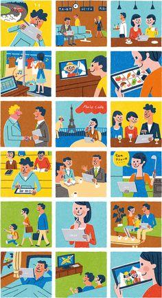 People Illustration, Business Illustration, Flat Illustration, Feelings Activities, Sketch Notes, Pictogram, Illustrations And Posters, Motion Design, Illustrators