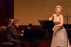 Il galà della musica The music gala Joyce DiDonato, Antonio Pappano, Wigmore Hall, London, 2014