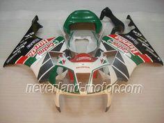 Carenado de ABS de Honda VTR1000 RC51 2000-2006 - Castrol