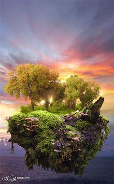 fantasy island  By Quest007