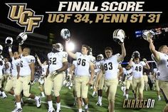 UCF Beats Penn State!!