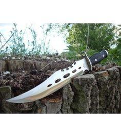 bowie survival mes rambo knive messen outdoor, prepper tools Survival Mes, Survival Knife, Unique Knives, Bowie, Tools, Outdoor, Outdoors, Instruments, Outdoor Games
