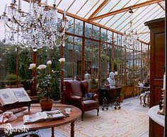 Orangerie met hoofdstructuur