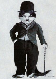 'Charlie Chaplin' by Susan Herbert