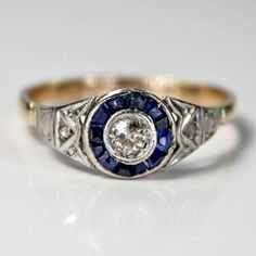 $1,180.00 love it!  Probably almost a perfect ring!   Hey, I found this really awesome Etsy listing at https://www.etsy.com/listing/202880186/rare-edwardian-sapphire-diamond-and