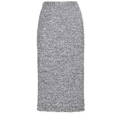 Norley tweed skirt Roland Mouret (€765) ❤ liked on Polyvore featuring skirts, roksanda, tweed skirt, slim skirt and panel skirt
