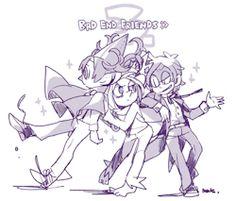 ❄️RKGK❄️ — Bad End Friends doodle (^∇゜*)