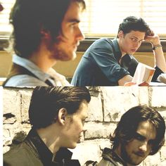 """Roman: I saw it, I mean,...I saw you"""" Peter: """"Wha....What....?"""" Roman: .....changing back from.....you know......it was fucking beautiful"""" // peter rumancek and roman godfrey   Hemlock Grove] Now are we ever gonna see Peter change back?"""