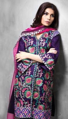 Sana Safinaz lawn collection 2014
