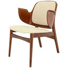 c 1960s Mid-Century Modern Molded Plywood Armchair