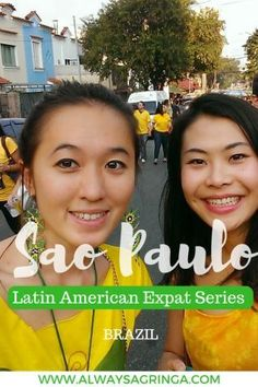 Latin American Expat Series - Sao Paulo, Brazil. Travel á la Tendelle answers all your questions about expat life in Sao Paulo, Brazil.