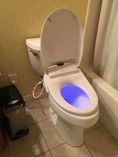 The cool blue light makes me want to look at the Swash 1400 luxury bidet for hours. Bidet Toilet Seat, Toilet Sink, Diy Drano, Luxury Toilet, Water Heating Systems, Ideal Bathrooms, Cleaners Homemade, Diy Cleaning Products, Cool Gadgets