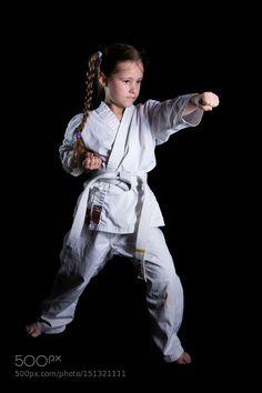 Karate Kid by MeikoRudolphi Sport Photography #InfluentialLime
