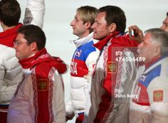 Gold Medalist Evgeni Plushenko Of Russia Enters The Stadium… ニュース写真 | ゲッティ イメージズ 日本 | 474506489