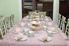 girls birthday tea party....so sweet....Your Celebrations | Pottery Barn Kids