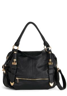 Every Day, Everywhere Bag in Black, #ModCloth
