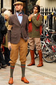 """it's like the """"Newsies"""" look; would take a lot to pull off but I like it. But I think I could!"""