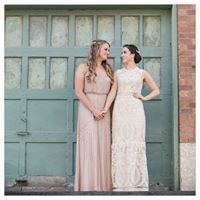 #twobrides. Dancing With Her is a dedicated bridal blog and magazine for women in love, with women. #lesbianwedding #weddinginspiration #brideandbride