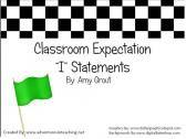 Classroom Expectations. Yes! I feel like I've hit the lottery!!