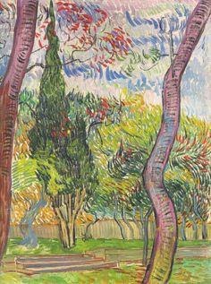Vincent van Gogh Parc de l'hôspital Saint-Paul