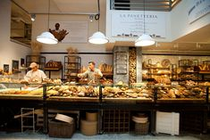 Eataly...just take a stroll through and try not to get hungry!