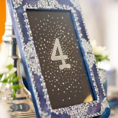 We've long had in mind to use our Winter Fairytale collection in a styled shoot… Event Design, Wedding Designs, Fairytale, Wedding Decorations, Pastel, Hand Painted, Navy, Antiques, Frame