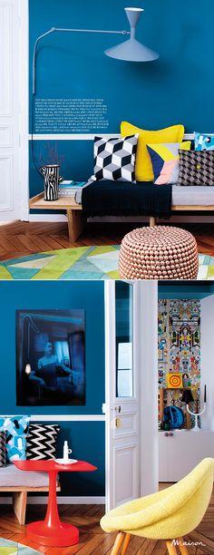 Color Block-Maison