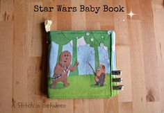 A Stitch In Between: Star Wars Baby Book