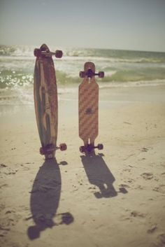 Skate to the sea.