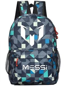 Lionel Messi Logo Barcelona 10 Bag Casual Laptop Backpack Schoolbag Sack #CLICK! #clothing, #shoes, #jewelry, #women, #men, #hats