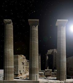 PILLARS OF CIVILISATION, Lindos, Greece