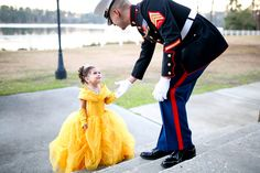 Daddy Daughter Marine Corps Dance - I love this photo!